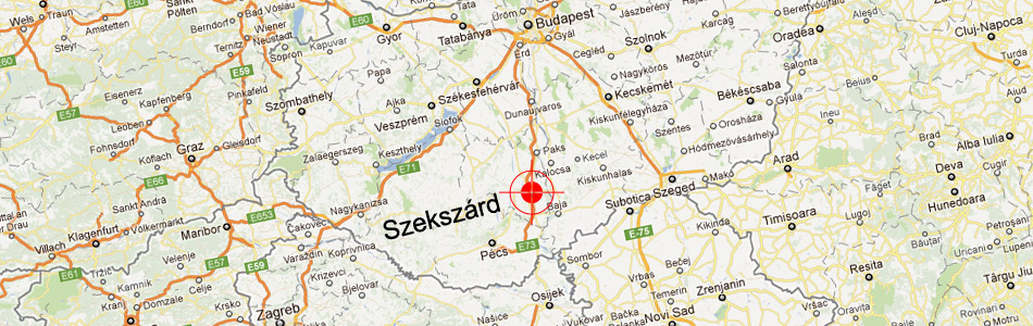 Our company is located in Szekszárd, Hungary